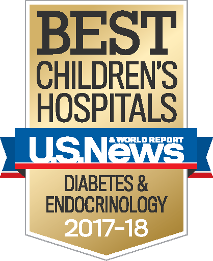 Best Children's Hospitals - Diabetes 2017-2018