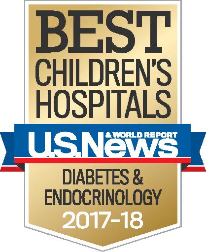 Best Children S Hospitals Diabetes 2017 2018