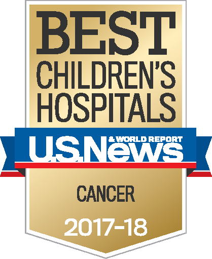 Best Children's Hospitals - Cancer 2017-2018