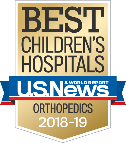 Best Children's Hospitals-Orthopedics 2018 - 2019