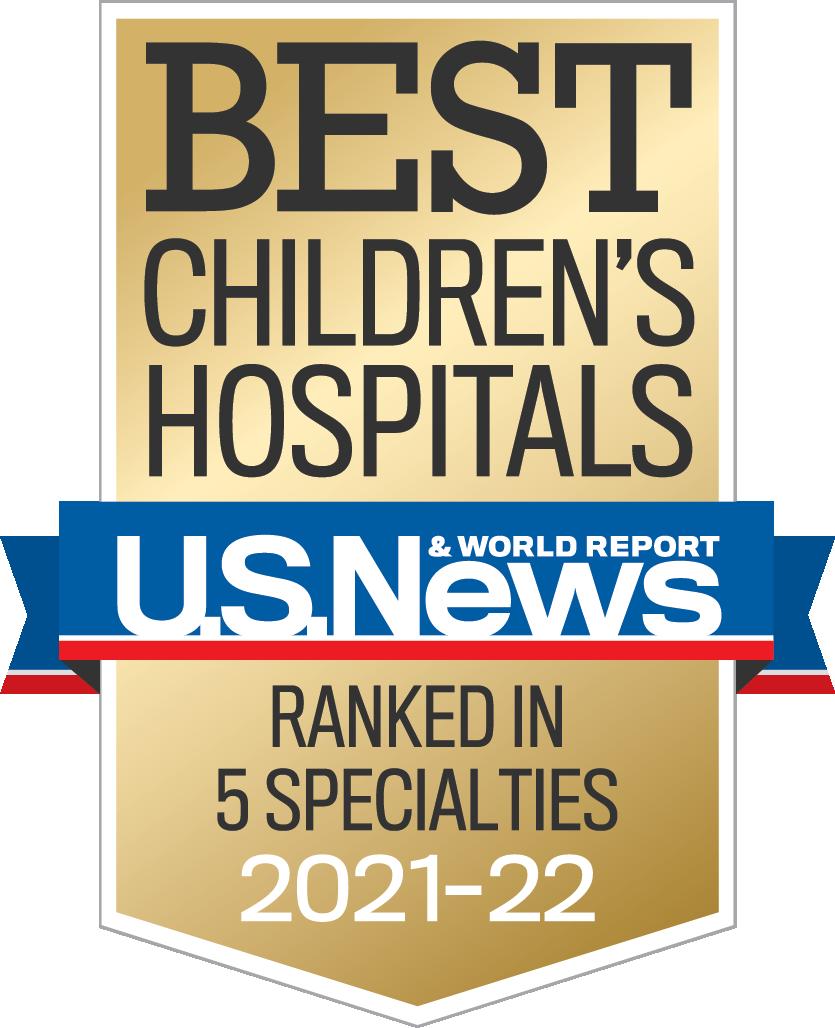 Best Children's Hospitals 2021-2022