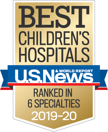 Best Children's Hospital 2019 - 2020