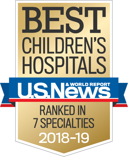 Best Children's Hospital 2018 - 2019