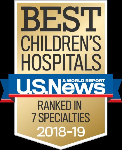 Best Chiildrens Hospitals 2018-2019